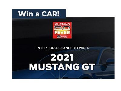Win a 2021 Mustang GT