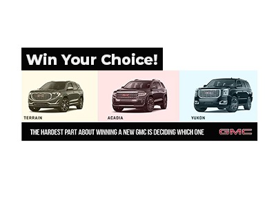 Win a GMC Truck Giveaway 2020