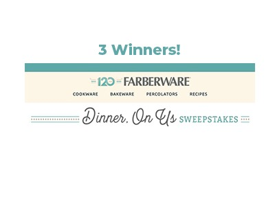 Farberware Dinner On Us Sweepstakes