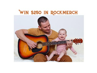 RockMerch Father's Day Sweepstakes