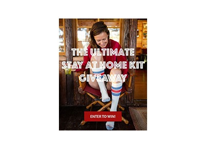 Ultimate Stay at Home Kit Giveaway