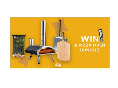 Win a Pizza Oven Bundle