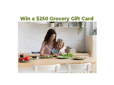 Win a $250 Grocery Gift Card