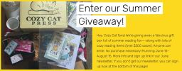 Cozy Cat Press Summer Reading Giveaway