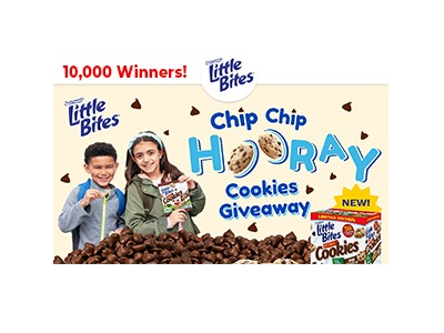Entenmann's Little Bites Chip Chip Hooray Cookies Giveaway