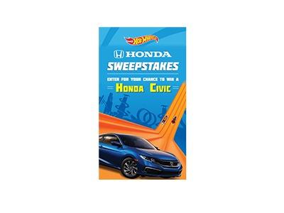 Hot Wheels Honda Sweepstakes