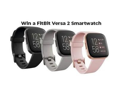 WIN a FITBIT Versa 2 Smartwatch