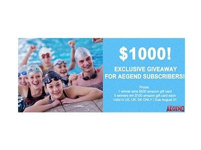 Aegend Official $1000 Amazon gift card giveaway
