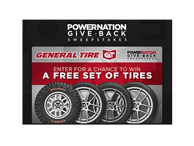 POwerNation Give Back Sweepstakes