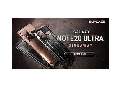 SUPCASE Galaxy Note20 Ultra Giveaway