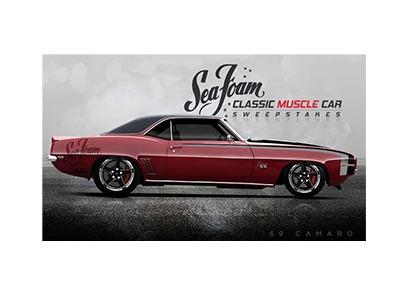Sea Foam Classic Muscle Car Sweepstakes