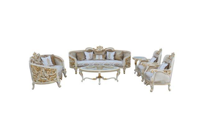 Bellagio Luxury Sofa Set Goldenleaf, Bellagio Furniture Collection