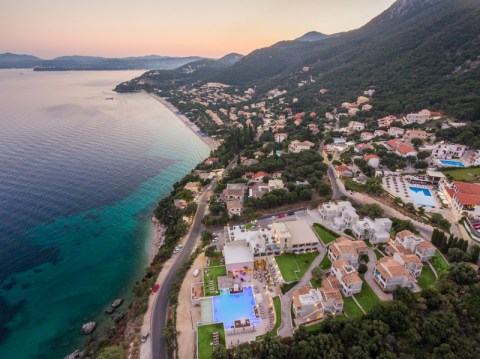 golden-mare-drone-photography-hotel-evening-view