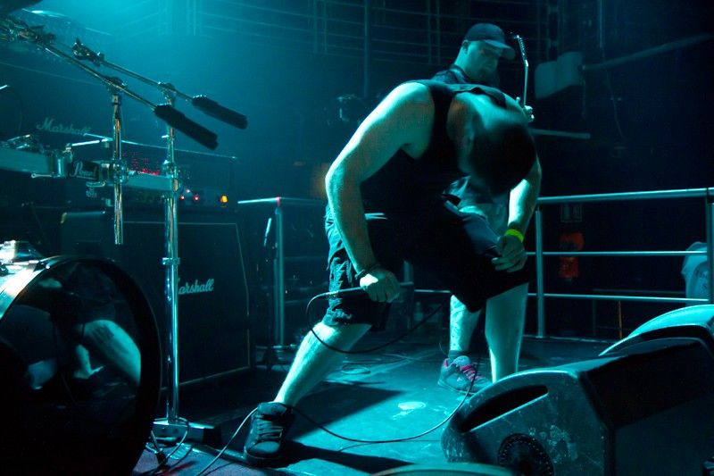 Warpath Supporting Cannibal Corpse at The Academy Dublin (5)