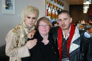 Justin Tranter, Nessy, Cole Whittle