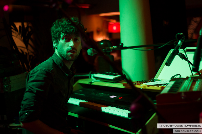 Delorentos @ Arthurs Day in The Mercantile by Owen Humphreys-9