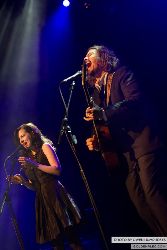 The Civil Wars @ The Olympia  by Owen Humphreys-10