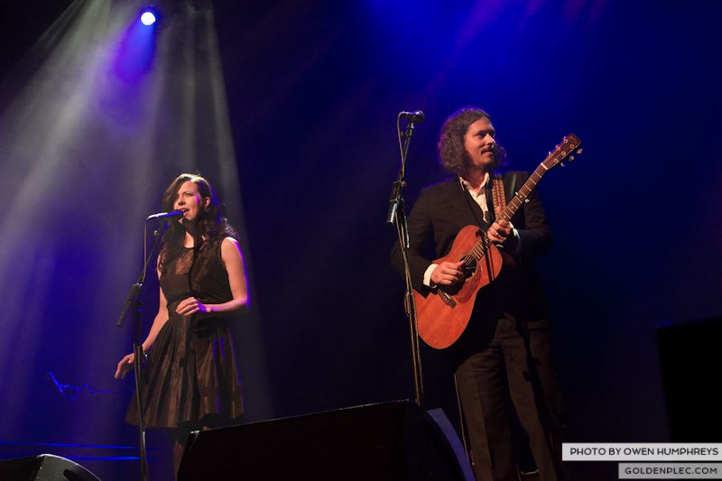 The Civil Wars @ The Olympia  by Owen Humphreys-12