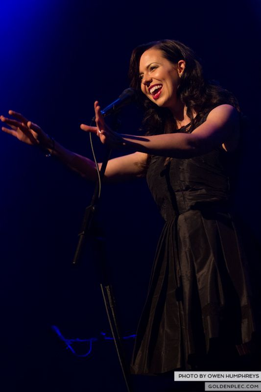 The Civil Wars @ The Olympia  by Owen Humphreys-16