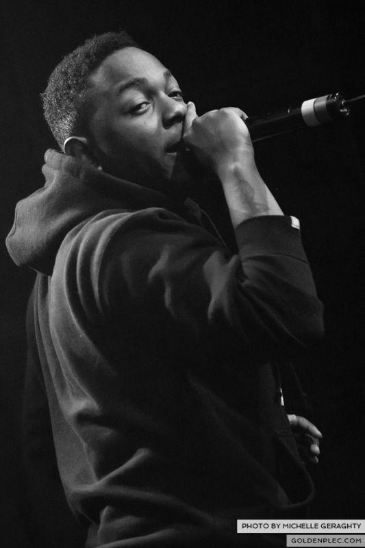 Kendrick Lamar at Vicar St 2013-6852