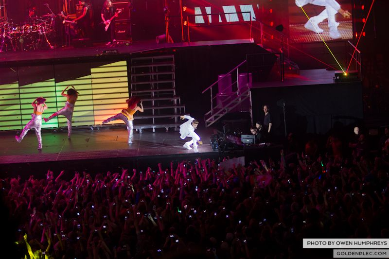 Justin Bieber @ The o2 on 17-2-13 (8)