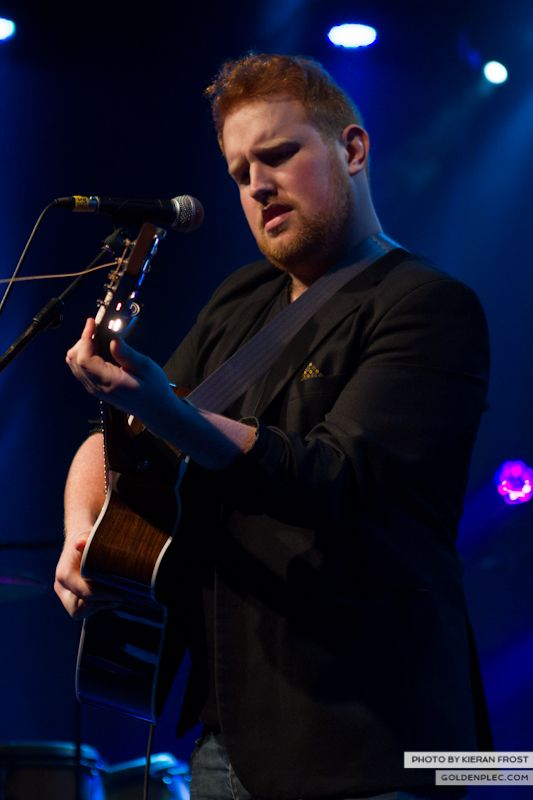 Gavin James at The Meteor Choice Music Prize