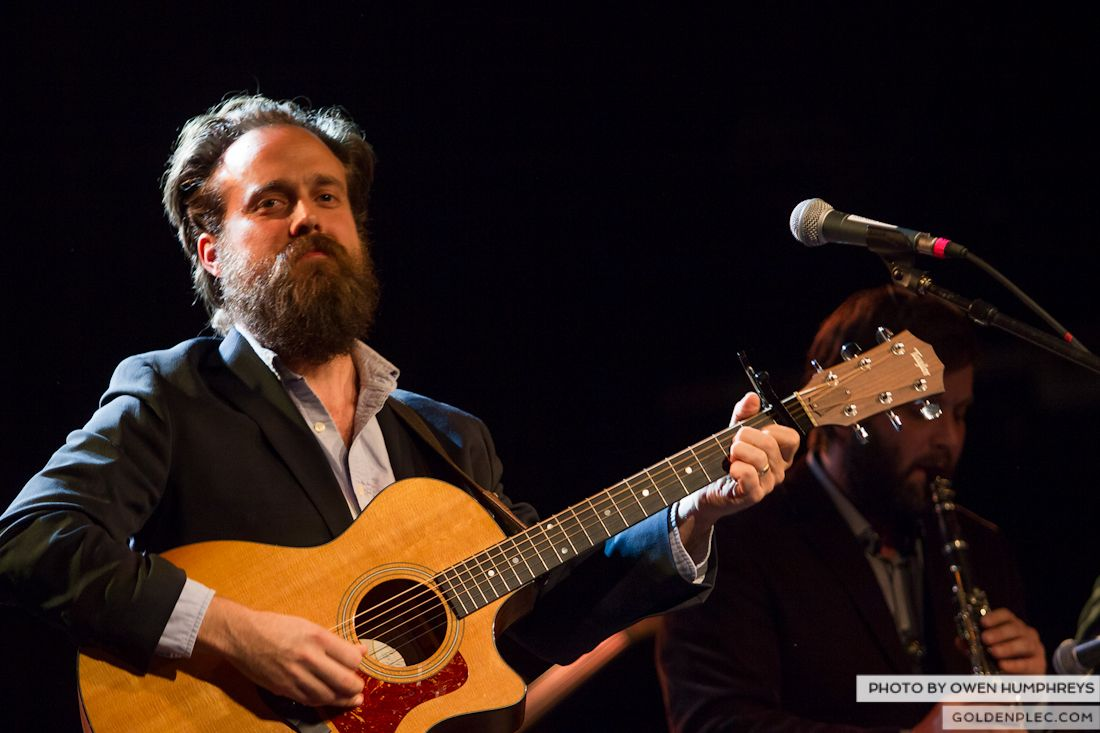 Iron and Wine @ The Olympia on 29-5-13 (1 of 12)