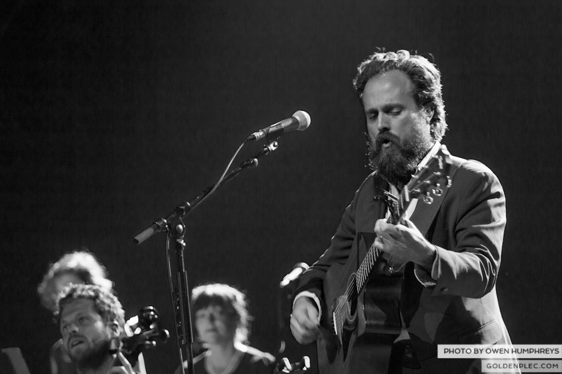 Iron and Wine @ The Olympia on 29-5-13 (2 of 12)