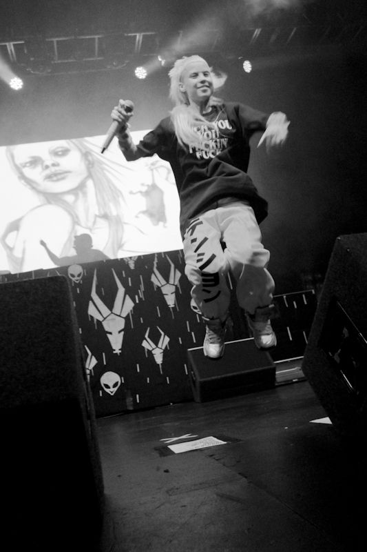 Die Antwoord in the Olympia on 20_06_2013 by Yan Bourke_22