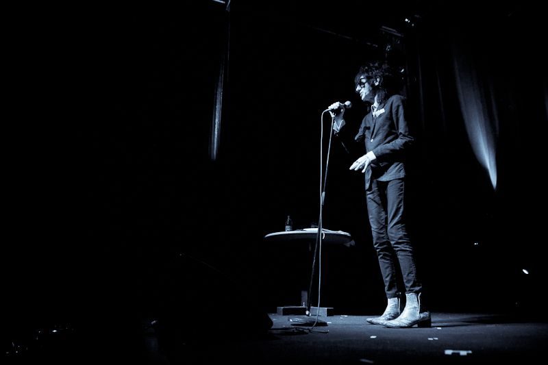 JohnCooper Clarke at The Button Factory on 14 June 2013 (11)