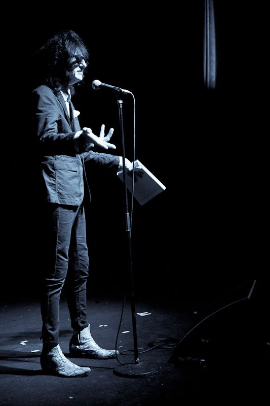 JohnCooper Clarke at The Button Factory on 14 June 2013 (4)