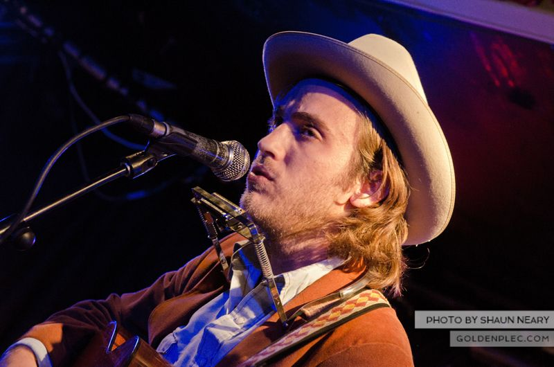 Andrew Combs at Whelans on September 8th 2013-12