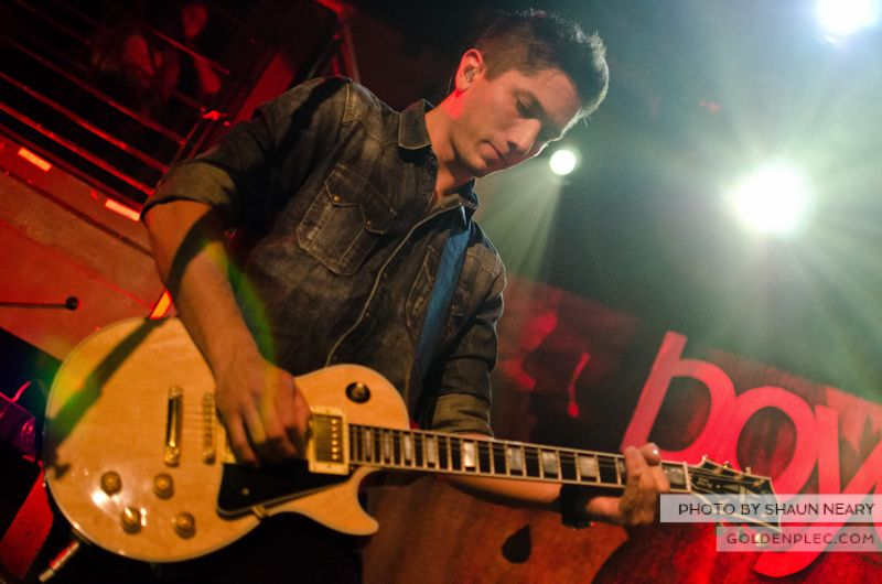 Boyce Avenue at The Academy on September 15th 2013-11