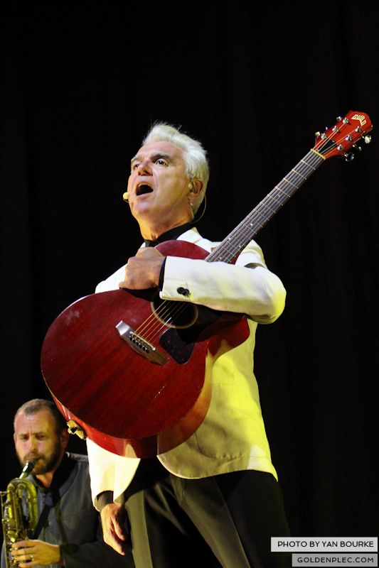 David Byrne and St Vincent at Electric Picnic by Yan Bourke on 010913_10