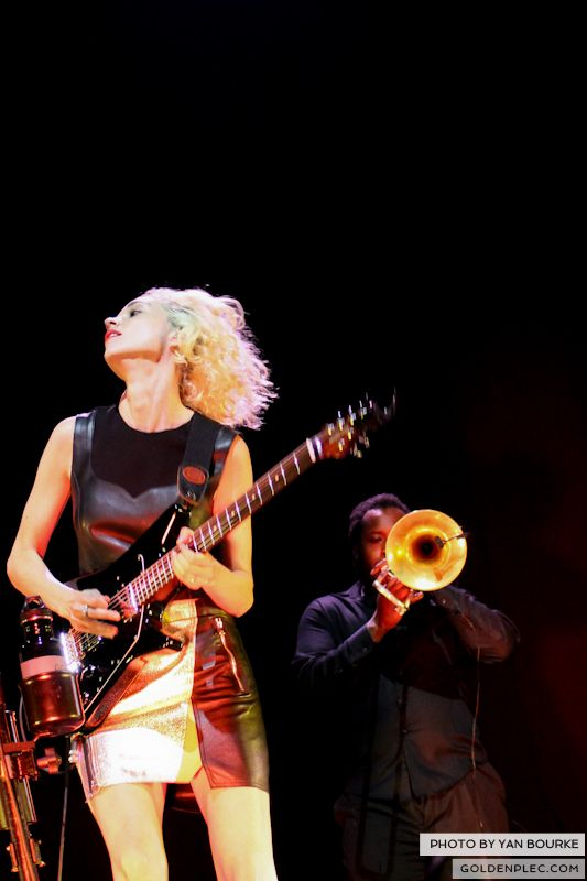 David Byrne and St Vincent at Electric Picnic by Yan Bourke on 010913_11