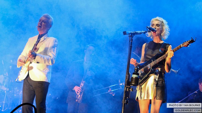 David Byrne and St Vincent at Electric Picnic by Yan Bourke on 010913_24