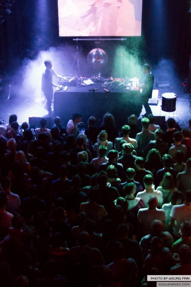 Fuck Buttons at The Button Factory on 14-09-13 7