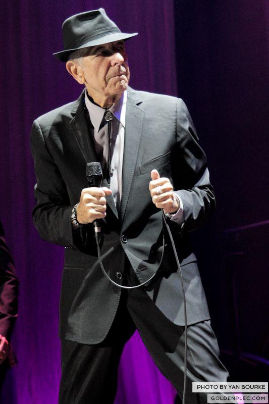Leonard Cohen In The O2 by Yan Bourke on 110913_13
