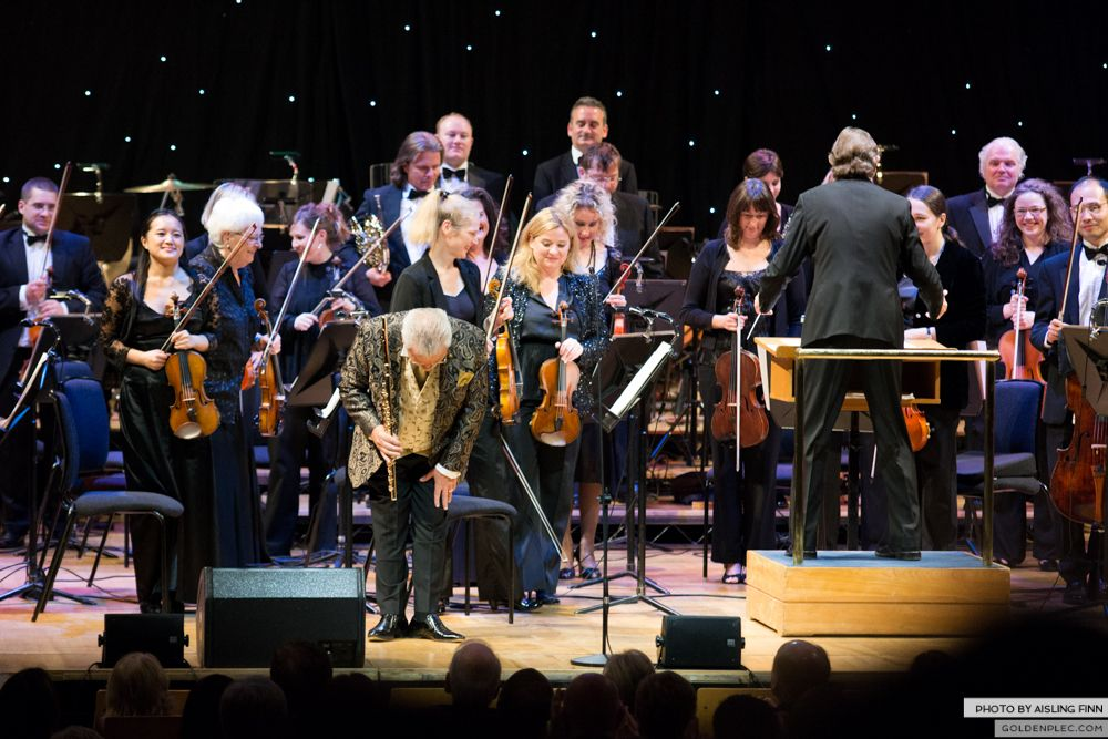 JAMES GALWAY AT THE NCH 05.10.2013-1-10