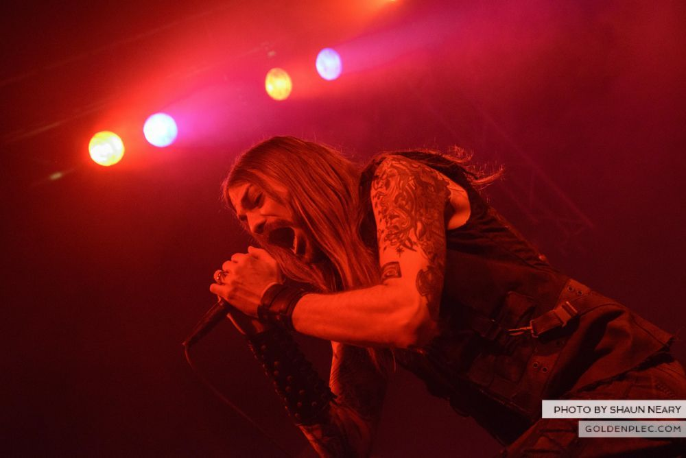 Iced Earth at The Button Factory, Dublin on January 13th 2014-18