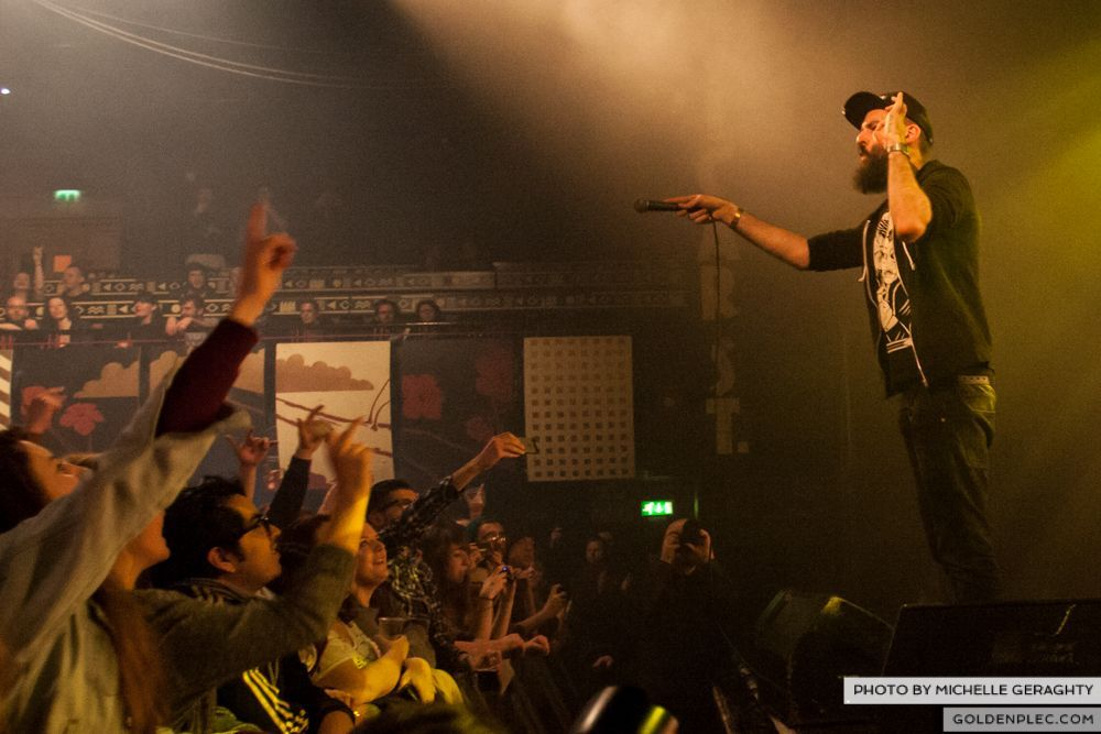 Dan Le Sac vs Scroobius Pip at Vicar Street by Michelle Geraghty-8528