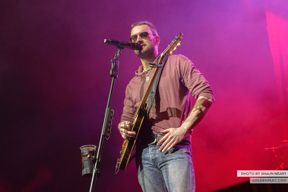 Eric Church at The Olympia Theatre, Dublin on February 24th 2014-14