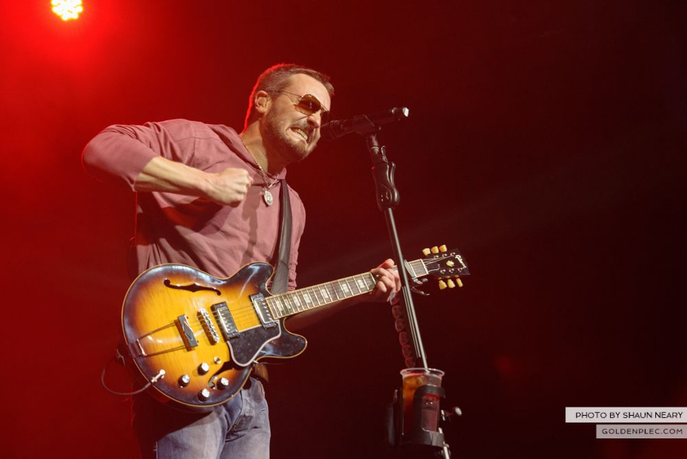 Eric Church at The Olympia Theatre, Dublin on February 24th 2014-21