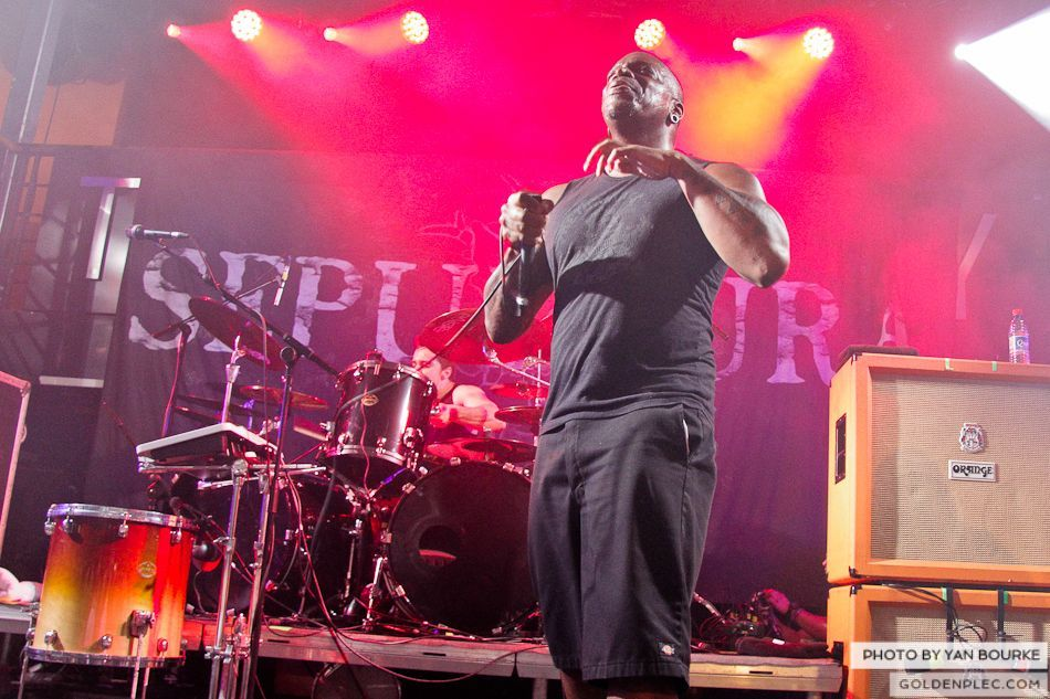 Sepultura in The Academy on 4 Feb 2014 by Yan Bourke-29