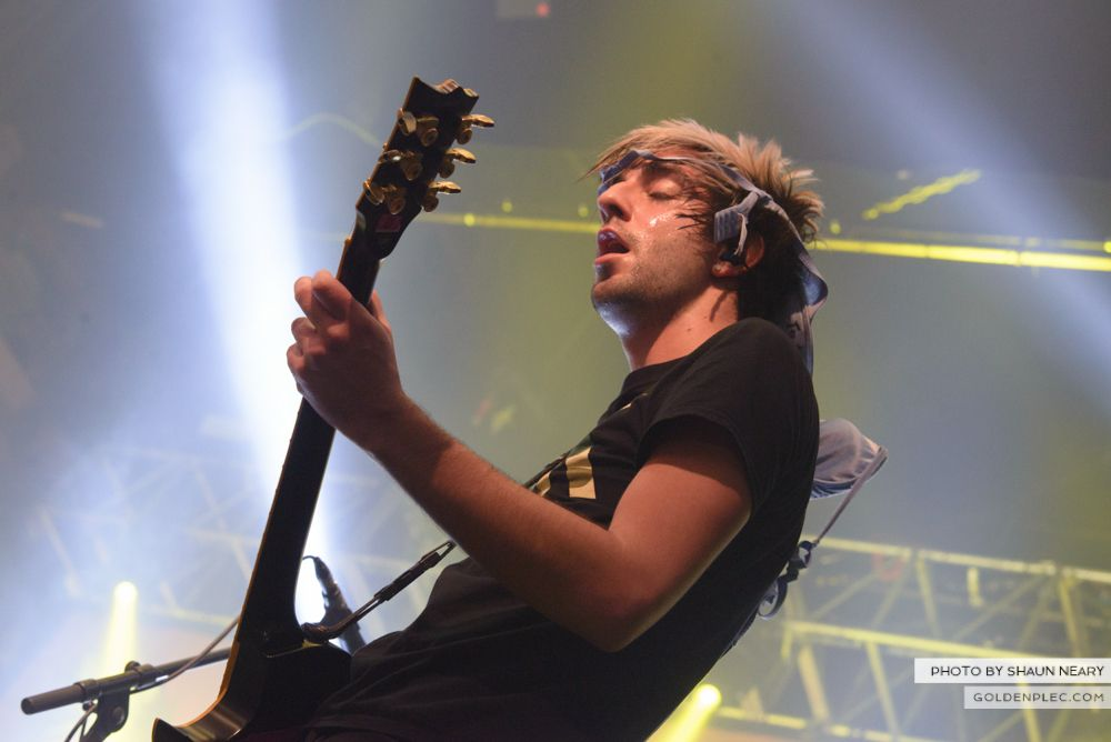 All Time Low at The Olympia Theatre, Dublin on March 19th 2014-17