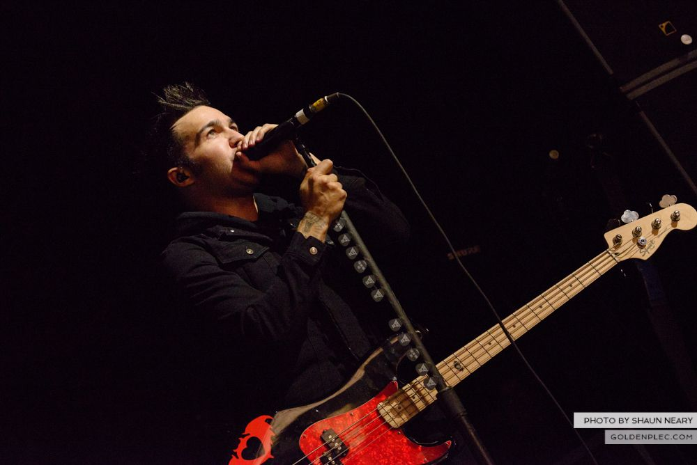 Fall Out Boy at The Olympia Theatre, Dublin on March 18th 2014-10