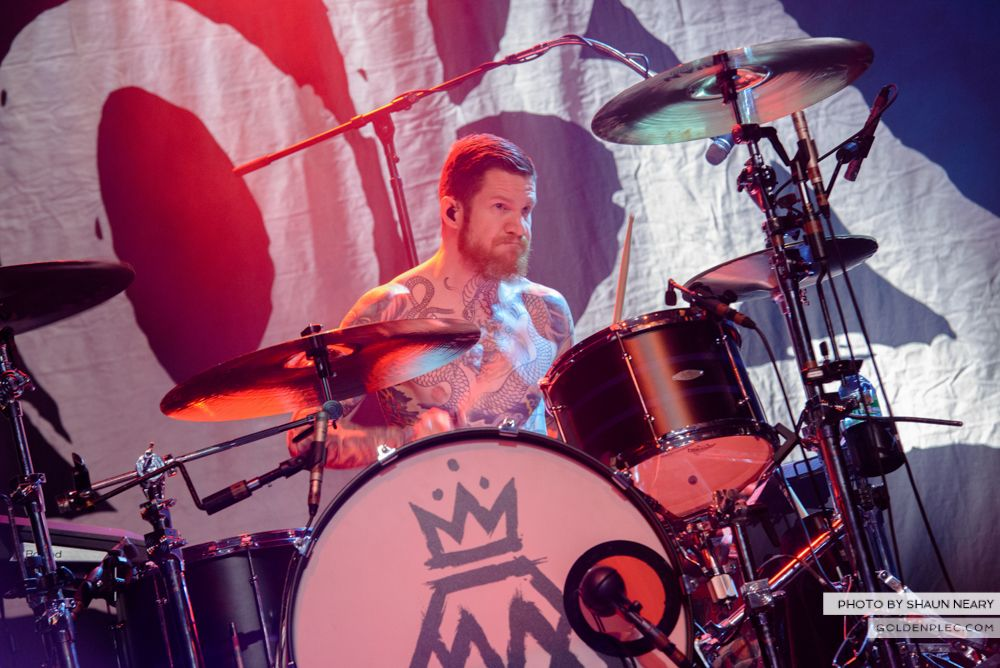Fall Out Boy at The Olympia Theatre, Dublin on March 18th 2014-15