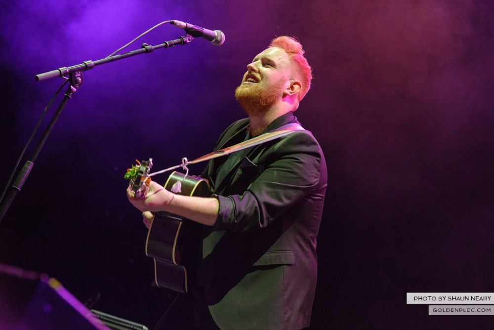 Gavin James at The o2, Dublin on March 16th 2014-7