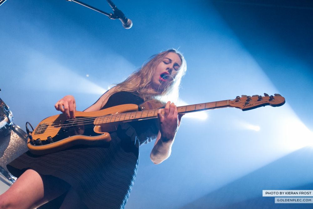 Haim at The Olympia by Kieran Frost