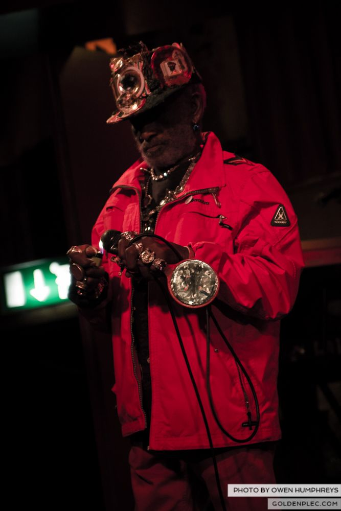 Lee Scratch Perry @ Roisin Dubh on 18-3-14 (13 of 14)